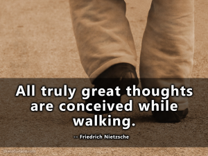 quote about walking